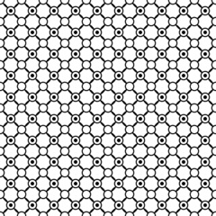 Geometric Black Pattern