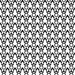 Geometric Black Pattern