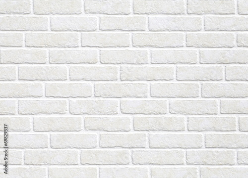 Papiers peints Pierre, Sable white brick wall background
