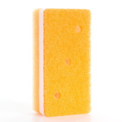 Kitchen sponge for washing and cleaning dish