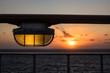 canvas print picture - Sonnenuntergang auf der Ostsee