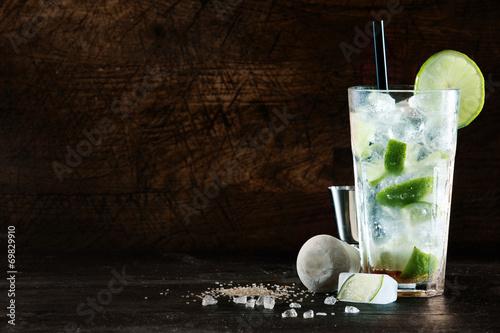 Refreshing Christmas cocktail
