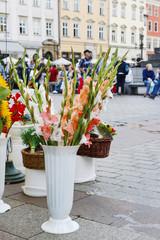 The Main Market Square, Krakow, Poland.
