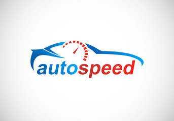 car automotive speed logo