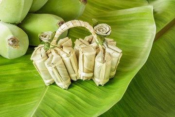 Banana candy, Thai style sweet candy. It is very sweet and stick