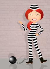 prisoner girl