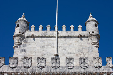 Battlements of the Belem Tower