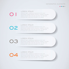 Vector Illustration of a Modern Design Template