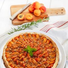 tarte aux abricots (format carré)