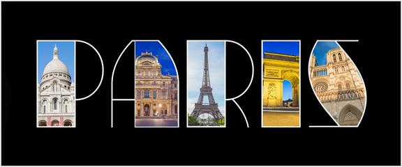 Paris Landmark Logo