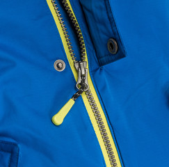 Close up zipper