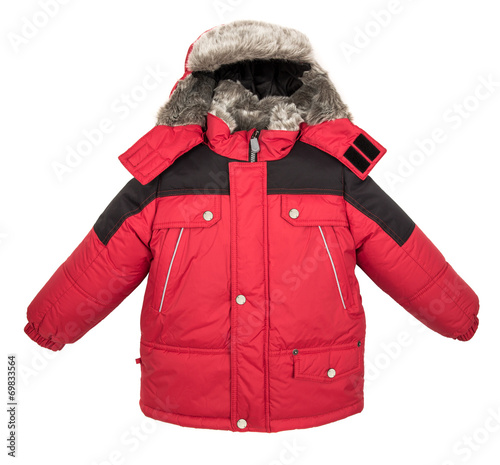 Warm jacket isolated - 69833564