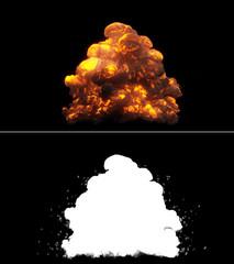 Realistic Bomb Explosion