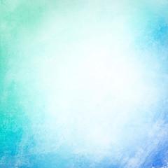 Cyan grunge blank background texture