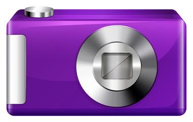 A violet digital camera