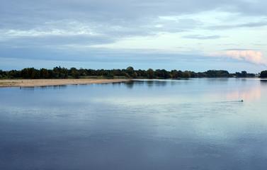 Abend an der Loire
