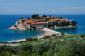 Montenegro. Sveti Stefan.