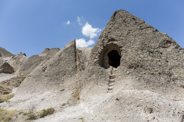 A cave house in Cappadocia, Nevhehir, Turkey