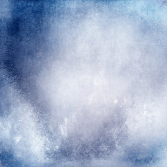 Grunge blue background texture