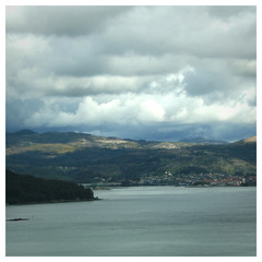 Galizien Ría am Jakobsweg
