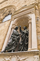 Christ and Saint Thomas from Orsanmichele church in Florence