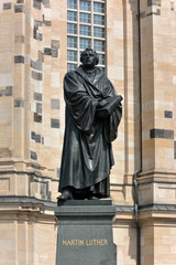 Martin Luther sculpture