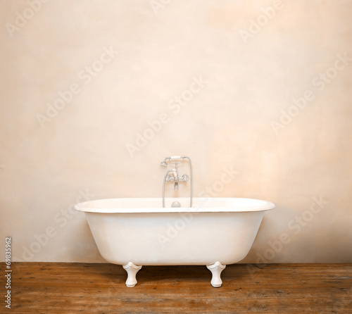 Fotobehang Retro Vintage bathroom