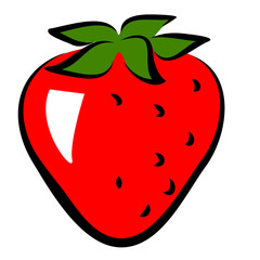 icon of strawberry