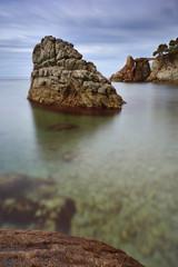 Cala dels Frares, Lloret beach in Costa Brava, Spain