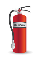 Fire Extinguisher Dry Chemical Vector