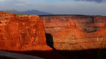 Beautiful Sunset in Canyonlands National Park Utah