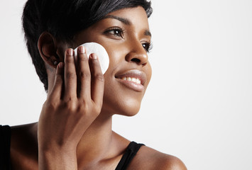 black skin cleansing process