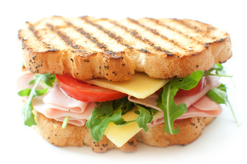 Grilled deli sandwich