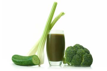 Vegetable detox beverage