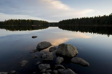 Höstlandskap i Kilsbergen, Närke