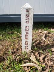 concrete post