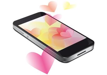 Smartphone in love 02 - Black