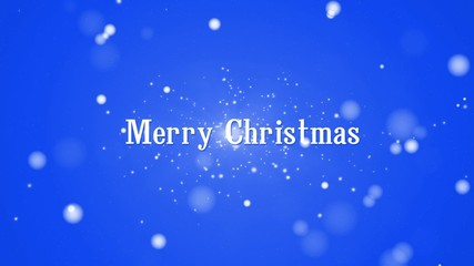 merry christmas and happy new year text animation, loop
