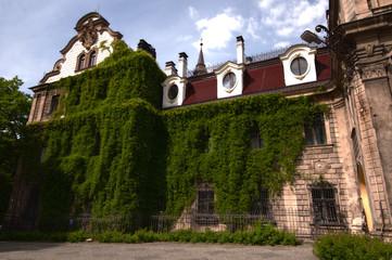 old castle in Moszna, near Opole, Silesia, Poland