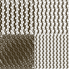 set pattern - geometric simple modern texture for your design.