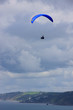 paraglider over Whitsand bay