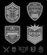 Special forces emblem patch set - 69843785