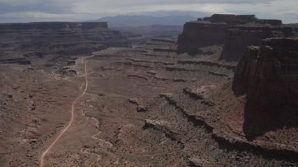 Shafer Switchbacks Road Canyonlands National Park Utah