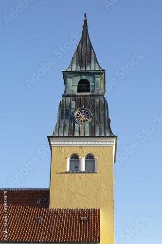canvas print picture Skagen (Dänemark) - Kirche