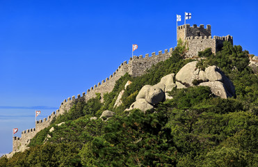 Castle of the Moors (Castelo dos Mouros) in Sintra