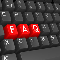 FAQ keyboard