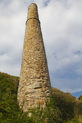 Wheal Trewavas Chimney