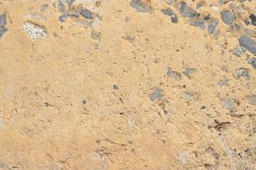 Concrete with stones
