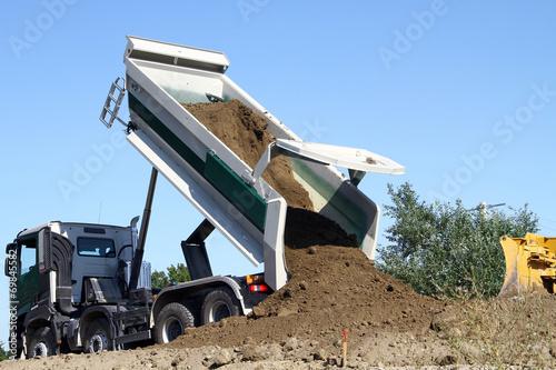 Camion de terre