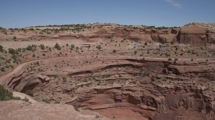 Shafer Switchbacks Road Canyonlands National Park Utah